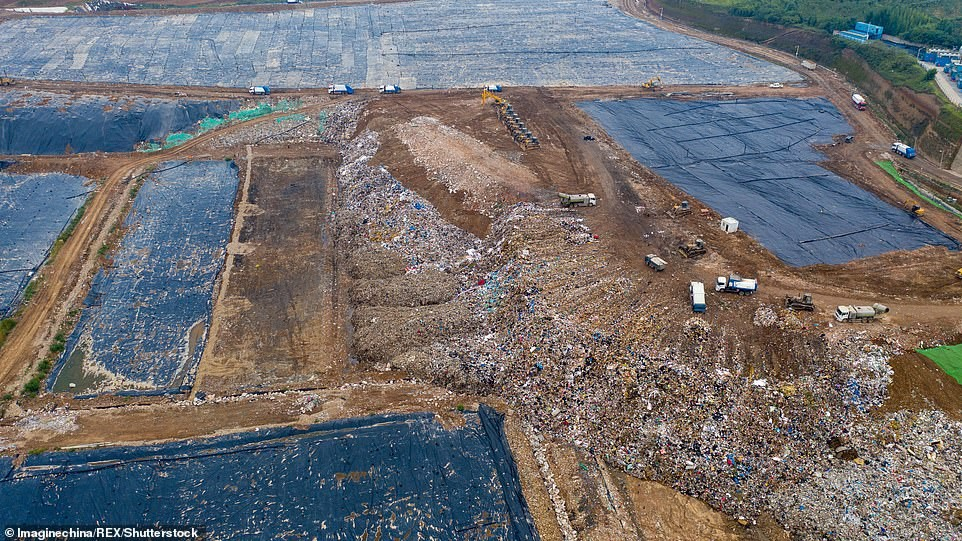 Image result for jiangcungou landfill
